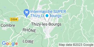 Plan Carte Da Costa Santos Casimiro à Thizy-les-Bourgs