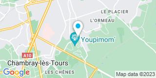 Plan Carte Berland à Saint-Avertin