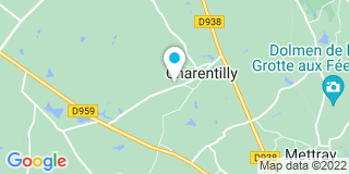 Plan Carte AGP Menuiserie 37 à Charentilly