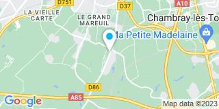 Plan Carte Verrier Stores à Joué-lès-Tours