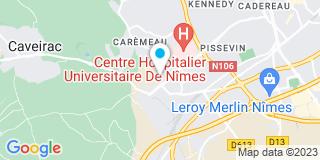 Plan Carte Lutz Menuiserie Ebénisterie à Nimes