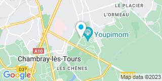 Plan Carte Société Nouvelle Franchet à Chambray-lès-Tours