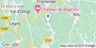 Plan Carte Propriété Privée Rhône Alpes à Bagnols