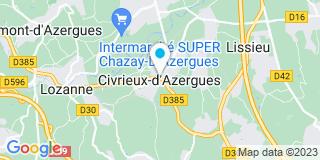 Plan Carte L'Esprit du Store à Civrieux-d'Azergues