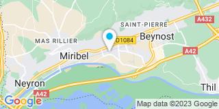 Plan Carte Projet-Alu à Pierre-Bénite
