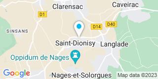 Plan Carte Etablissement La-Gotto à Saint Dionizy