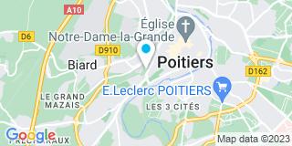 Plan Carte Arnoux RP à Poitiers