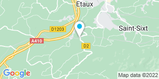 Plan Carte Sage Chalets à La Roche-sur-Foron