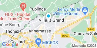 Plan Carte Menuis'Art à Ville-la-Grand