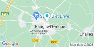 Plan Carte Société Bourneuf  à Parigne-L'Evêque