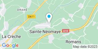 Plan Carte Boutin Thierry à Sainte-Néomaye