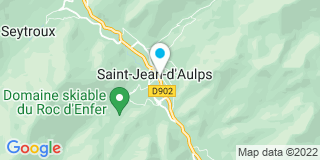 Plan Carte Confortbois à Saint-Jean-d'Aulps