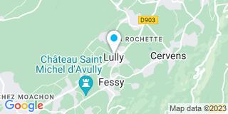 Plan Carte Breband Et Fils Menuiserie-Charpente à Lully