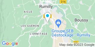 Plan Carte Bouvier Frères Entreprise à Vallières