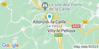 Plan Carte Ecotherm à Allonzier-la-Caille