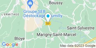 Plan Carte Tdfajm à  Marigny-Saint-Marcel
