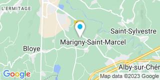 Plan Carte Iso Mir à Alby-sur-Cheran