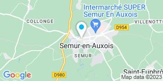 Plan Carte Weldom à Semur-en-Auxois
