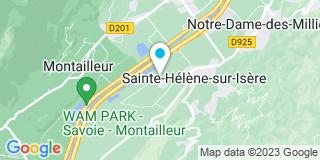Plan Carte Garin Frères à Sainte-Hélène-sur-Isère
