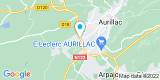 Plan Carte Laumond Claude à Aurillac