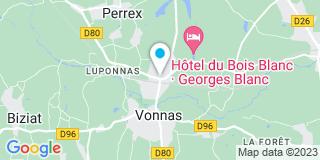 Plan Carte 1 2 3 Isolation à Vonnas