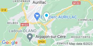 Plan Carte DGM à Aurillac