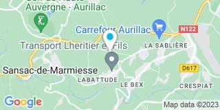 Plan Carte Tournaire Henri à Sansac de Marmiesse