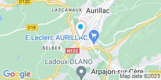 Plan Carte Menuiserie Malet à Aurillac