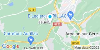 Plan Carte Technimen  à Aurillac