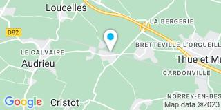 Plan Carte Nste Bois à Brouay