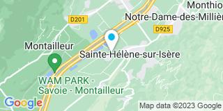 Plan Carte Ceytre Menuiserie à La Sainte-Helène-sur-Isère