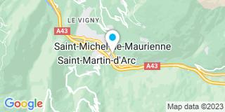 Plan Carte Trivero à Saint-Michel-de-Maurienne