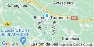 Plan Carte Gino Lombardi à Belmont-Tramonet