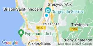 Plan Carte Vitraix à Aix-les-Bains