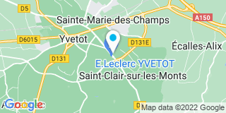Plan Carte Mr Bricolage à Yvetot