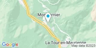 Plan Carte Metallerie Mauriennaise à Pontamafrey Montpascal