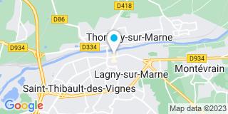 Plan Carte Besana à Lagny-sur-Marne
