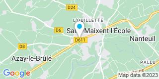 Plan Carte Cacouault à Saint-Maixent-l'École