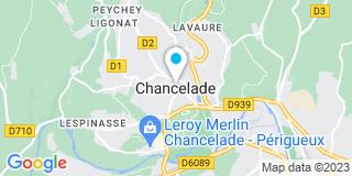Plan Carte Leroy Merlin à Périgueux (Chancelade)