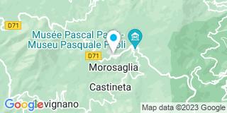 Plan Carte Gédimat à Morosaglia