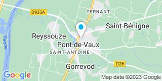 Plan Carte 2 MP Fermetures à Pont de Vaux