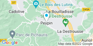 Plan Carte Gédimat à Peypin