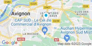 Plan Carte Gédimat à Avignon