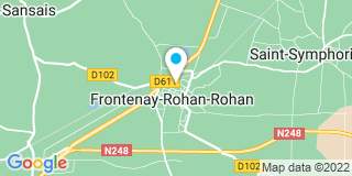 Plan Carte Sa2m à Frontenay-Rohan-Rohan