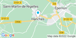 Plan Carte Mr Bricolage à Hanches