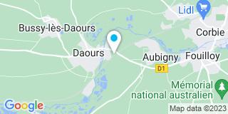 Plan Carte Ateliers Menuiserie Dubas de Daours (Am3d)