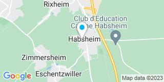 Plan Carte Air Technique Franco Suisse à Habsheim