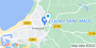 Plan Carte Bricorama à Saint-Malo