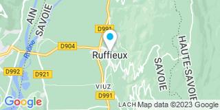 Plan Carte Abry Menuiserie à Ruffieux