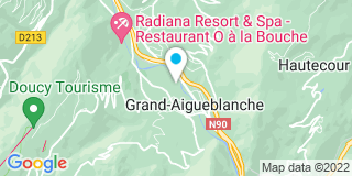 Plan Carte Se Chedal Anglay Francis à Aigueblanche